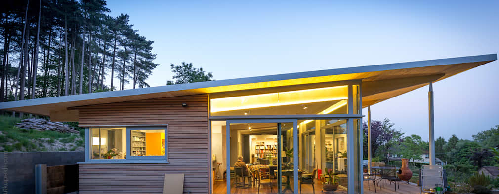 20 Cool houses with flat roofs