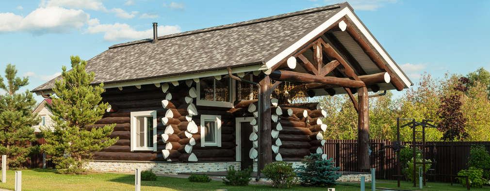 Casas de estilo rústico por Smart Wood