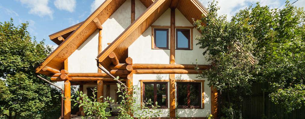 Smart Wood - post and beam: Дома в . Автор – Smart Wood