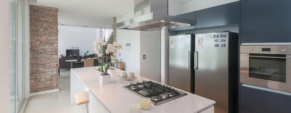CASA HARAS SANTA MARIA: Cocinas de estilo moderno por Estudio Arqt