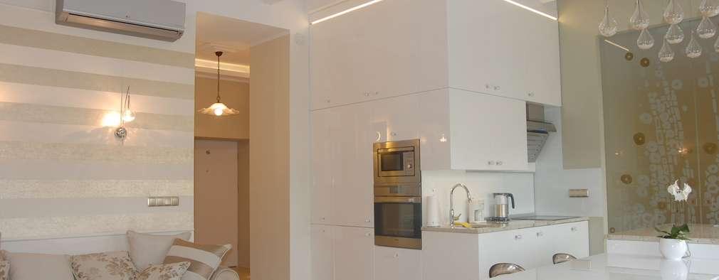 modern Kitchen by Architektura Wnętrza