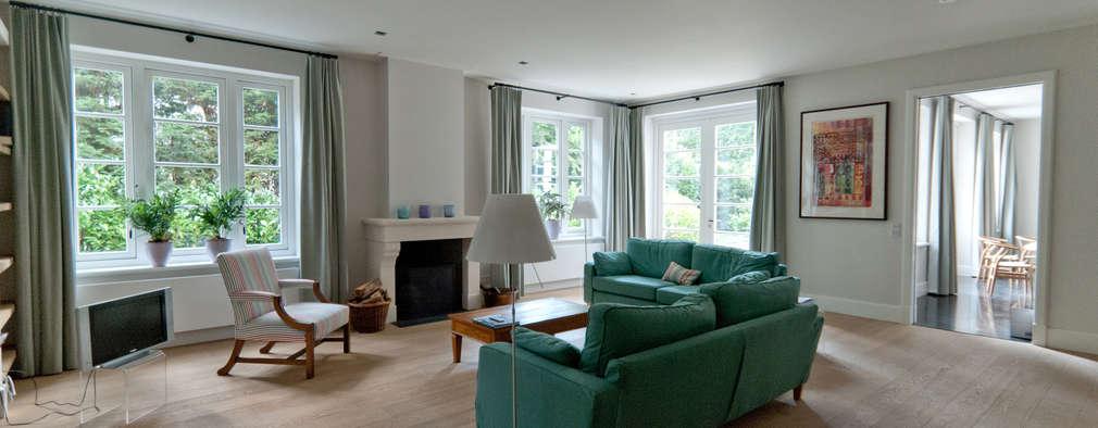 woonkamer: klasieke Woonkamer door Snellen Architectenbureau