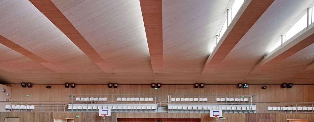 โรงเรียน by Brisac Gonzalez Architects