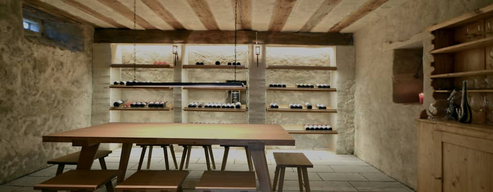 Projekty,  Piwnica win zaprojektowane przez Dr. Schmitz-Riol Planungsgesellschaft mbH
