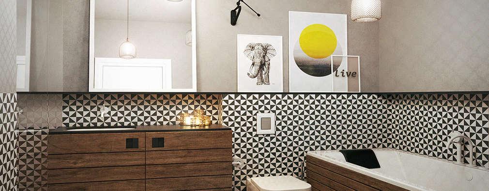 Ванные комнаты в . Автор – razoo-architekci