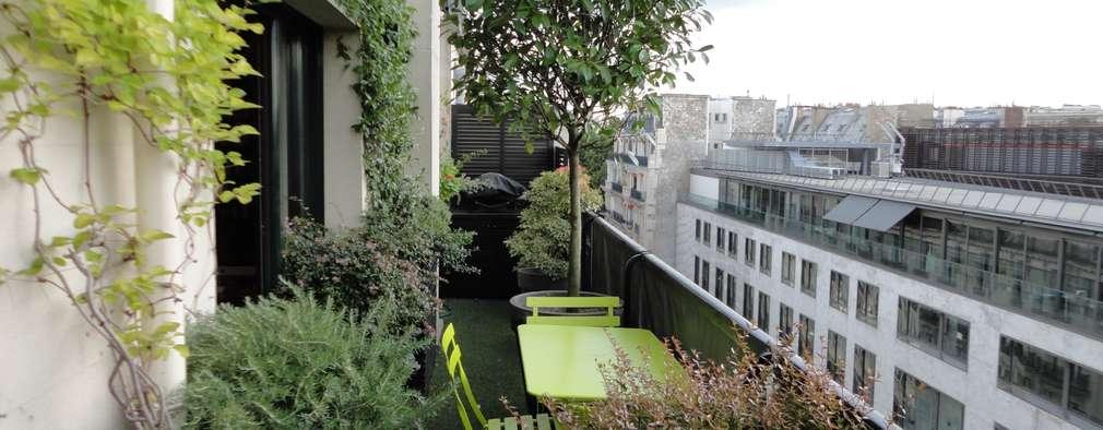vorher nachher schmaler balkon wird gr nes paradies. Black Bedroom Furniture Sets. Home Design Ideas