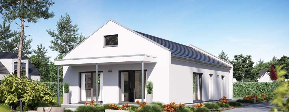 Projekty, nowoczesne Domy zaprojektowane przez FingerHaus GmbH