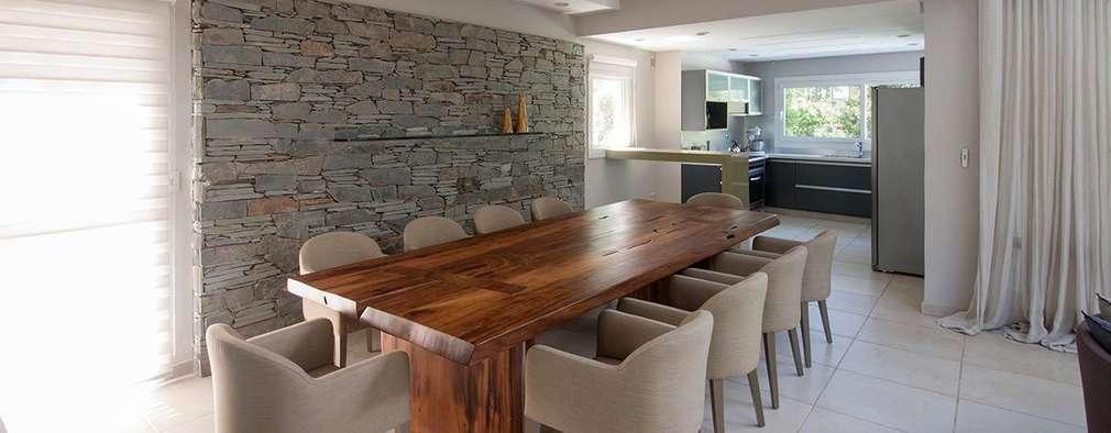 Salle à manger de style de style Moderne par Estudio Sespede Arquitectos