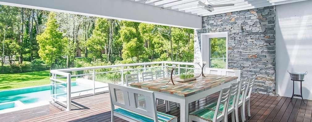 modern Garden by Estudio Sespede Arquitectos