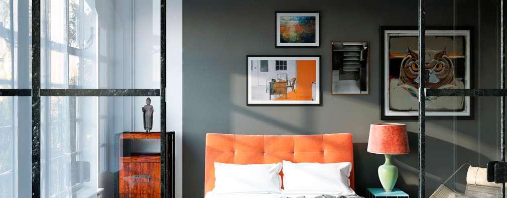 Dormitorios de estilo escandinavo por Artur Akopov