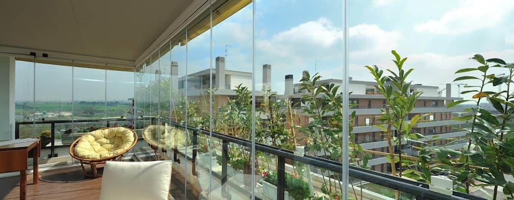 Come chiudere il balcone o terrazzo e guadagnare una camera in più