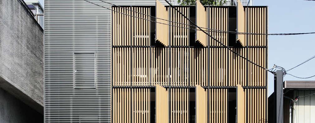 허름한 건물의 세련된 변신을 담은 재생건축 주택 디자인