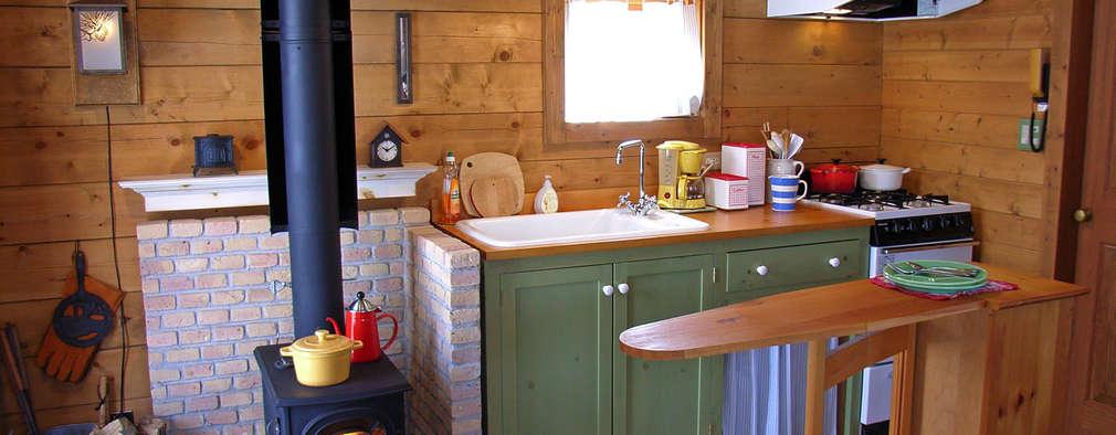 Cocinas de estilo rural por Cottage Style / コテージスタイル