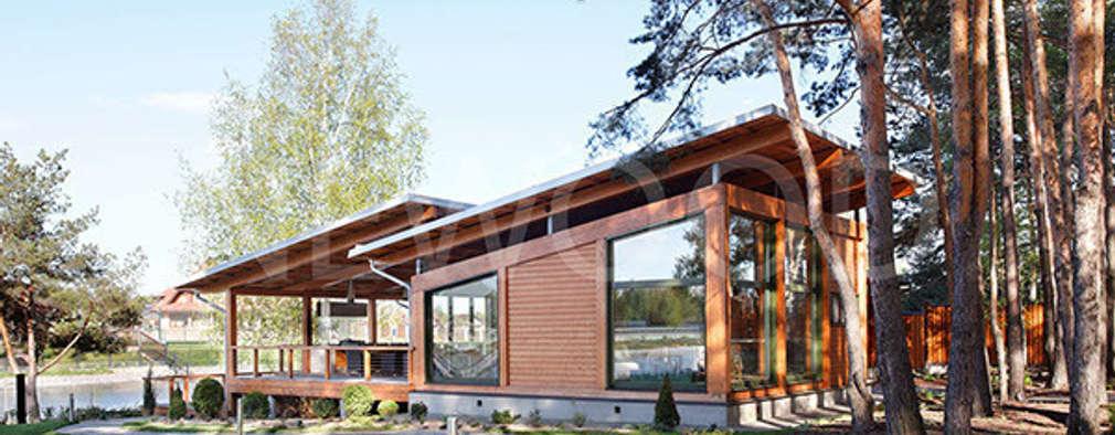 Nhà by NEWOOD - Современные деревянные дома
