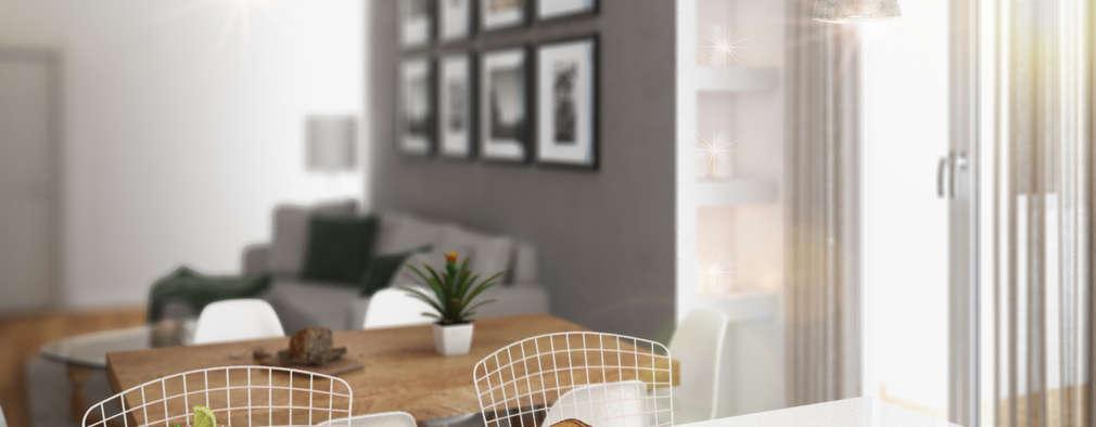 Projekty,  Kuchnia zaprojektowane przez Beniamino Faliti Architetto