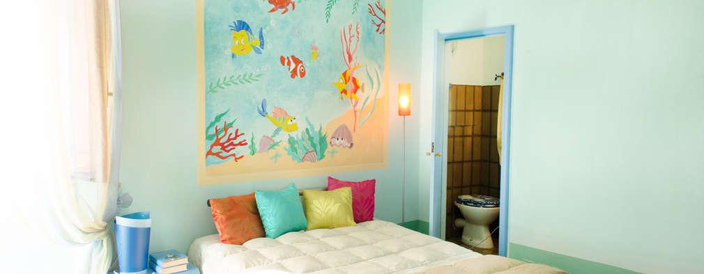 mediterranean Bedroom by Marianna Leinardi