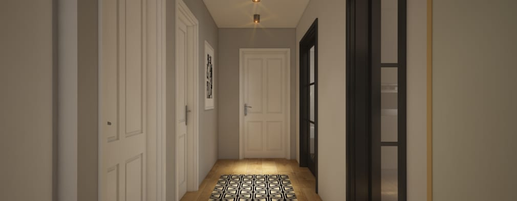 Corridor & hallway by yücel partners