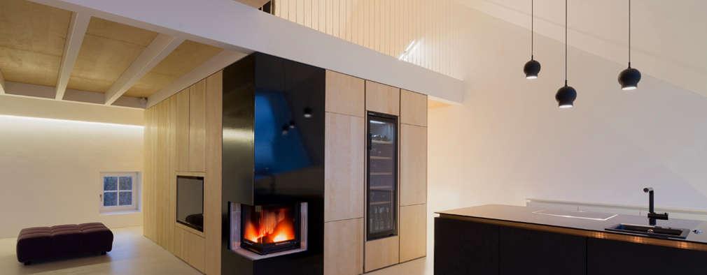 eclectic Living room by MARCH GUT industrial design OG