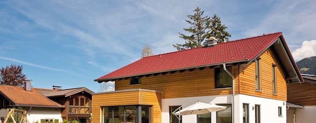 Projekty,  Dom prefabrykowany zaprojektowane przez FingerHaus GmbH