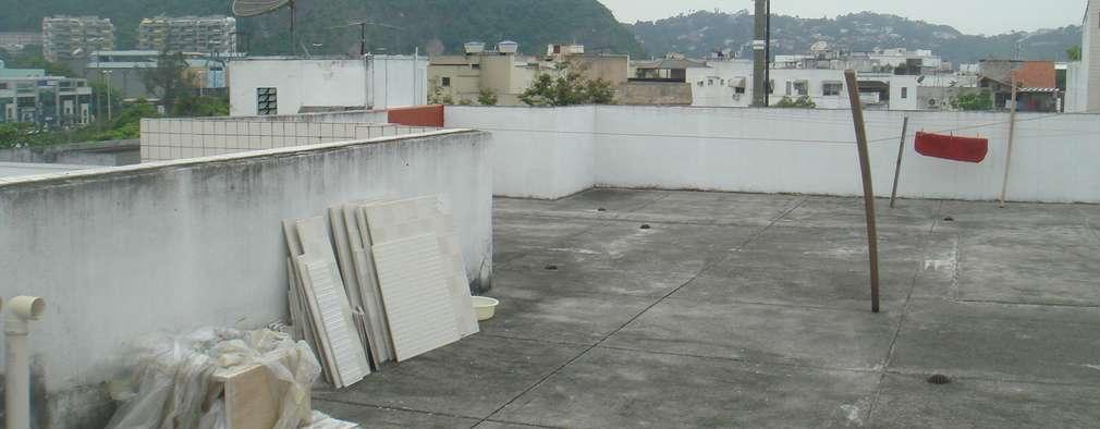de estilo  por Carolina Mendonça Projetos de Arquitetura e Interiores LTDA