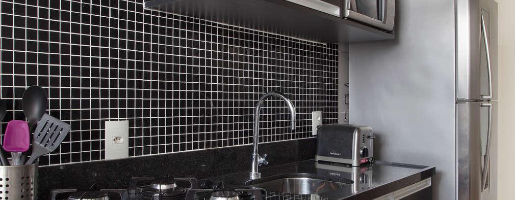 Azulejos de cocina: 12 ideas de revestimientos con mosaicos
