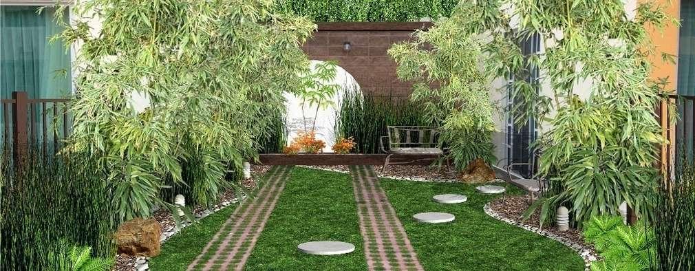 Grandes jardines peque os for Jardines bien decorados