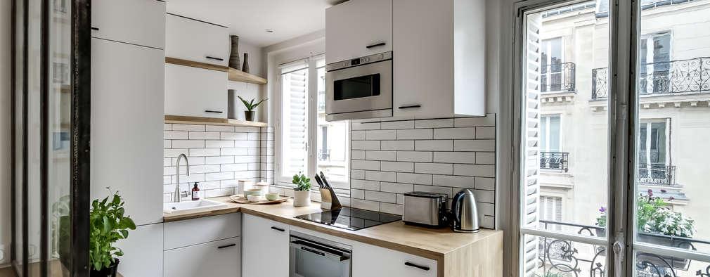 6 cucine ad L ideali per piccoli appartamenti