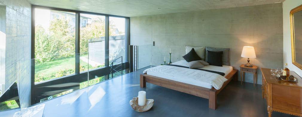 臥室 by von Mann Architektur GmbH