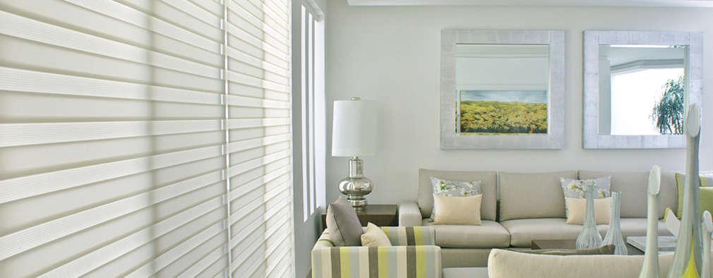 45 ambientes decorados com cortinas e persianas v?o te inspirar a ...