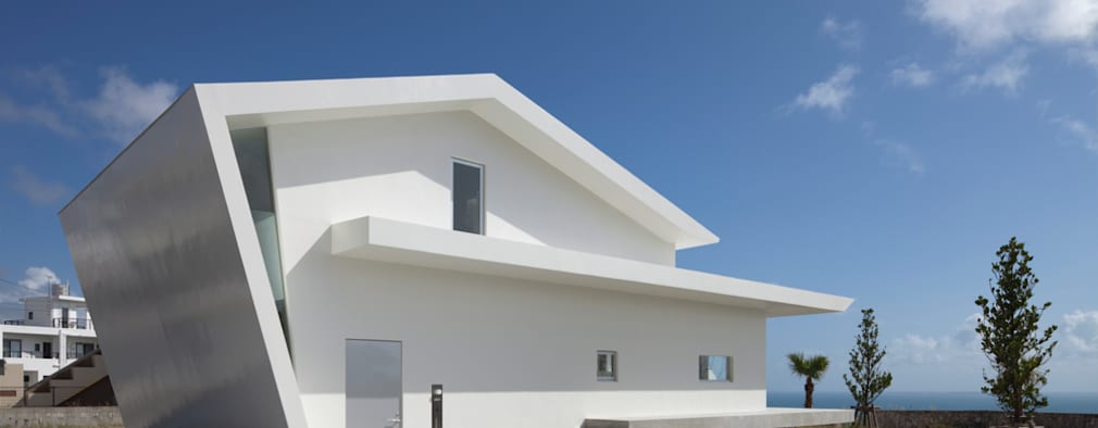 外観: 森裕建築設計事務所が手掛けた家です。