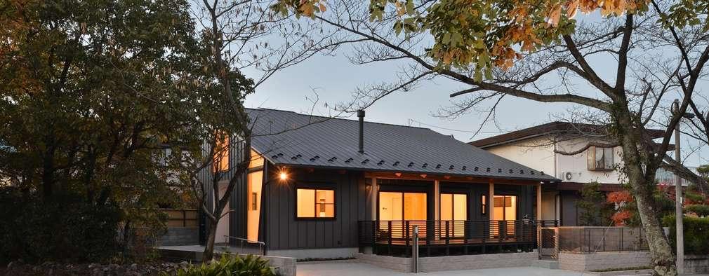 บ้านและที่อยู่อาศัย by 若山建築設計事務所