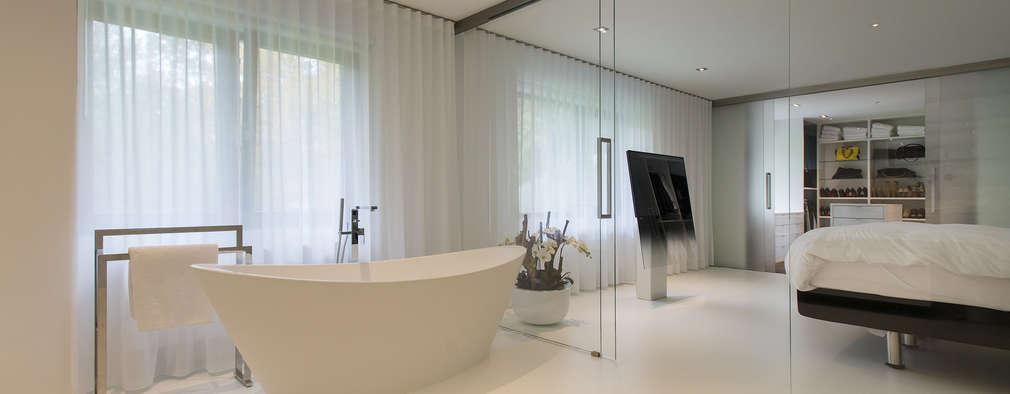 Lab32 architecten: minimal tarz tarz Banyo