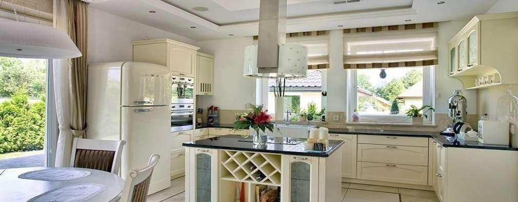 Rezydencja w Jaworzu: styl , w kategorii Kuchnia zaprojektowany przez Studio Mirago