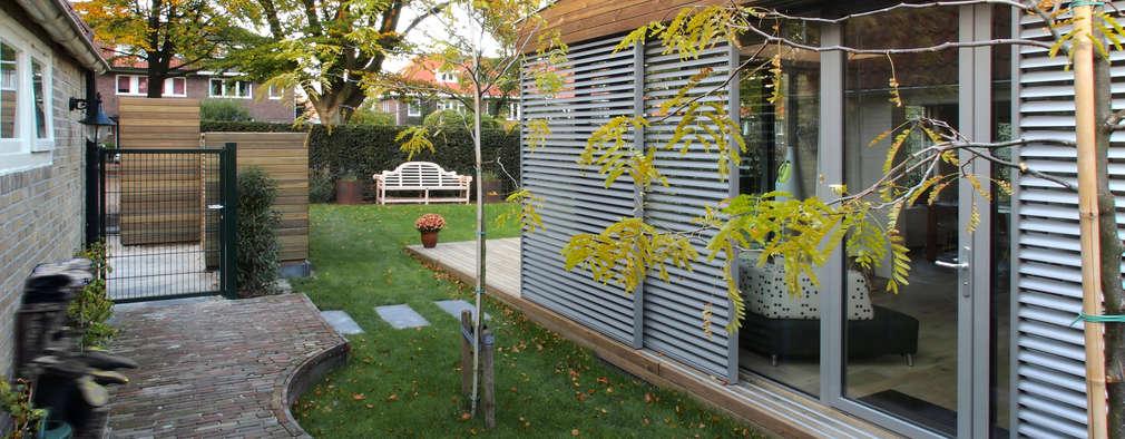 Jardines de invierno de estilo moderno por Roorda Architectural Studio