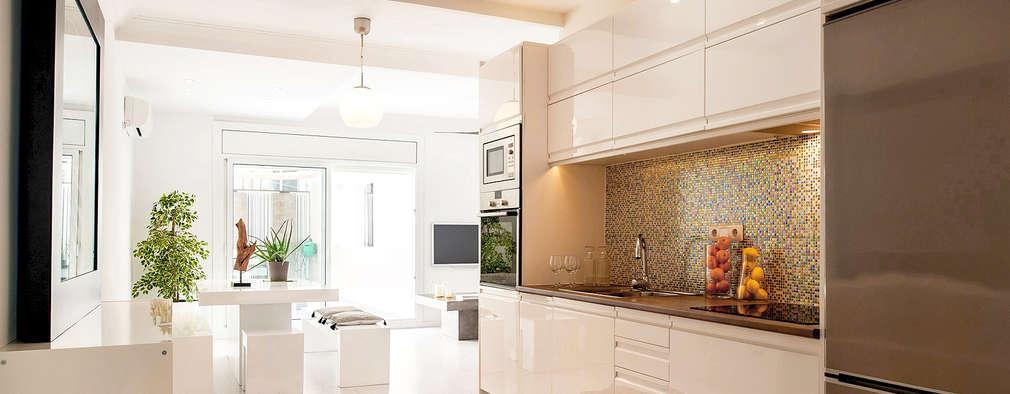 12 cocinas lineales sensacionales for Cocinas lineales