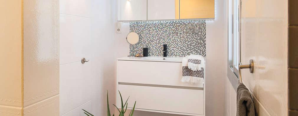 Casas de banho minimalistas por Markham Stagers