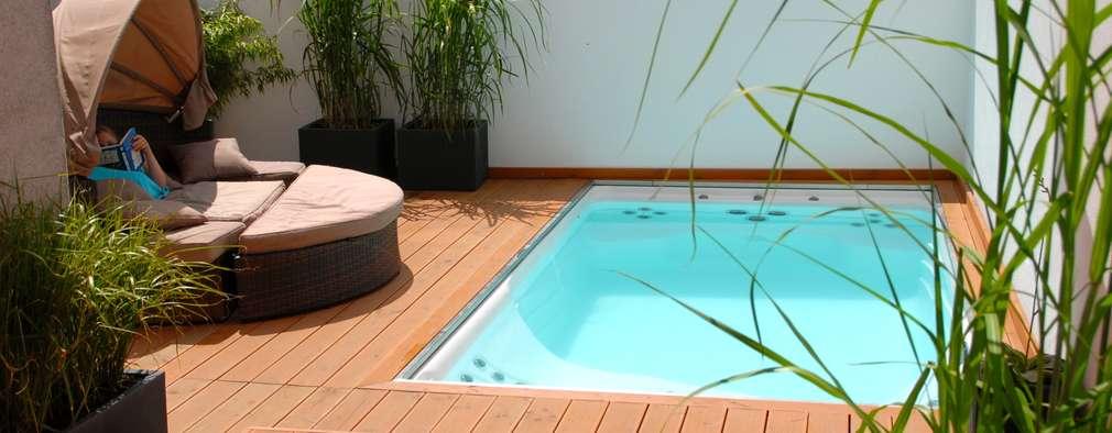 22 fantastiche piccole piscine per il giardino prima parte - Piccole piscine da giardino ...