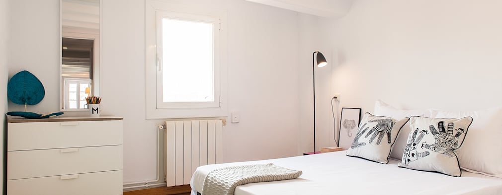 moderne Slaapkamer door Markham Stagers