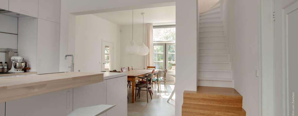 Restauratie en verbouw van voormalig Gemeentehuis Oudenrijn, De Meern: moderne Keuken door op ten noort blijdenstein architecten