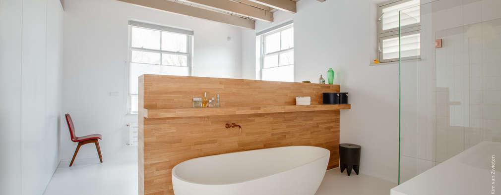 geef je badkamer wat extra's met hout, Badkamer