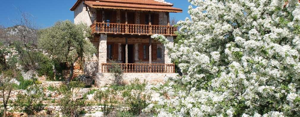Hoyran Wedre Country Houses – Balayı Evi: akdeniz tarzı tarz Evler