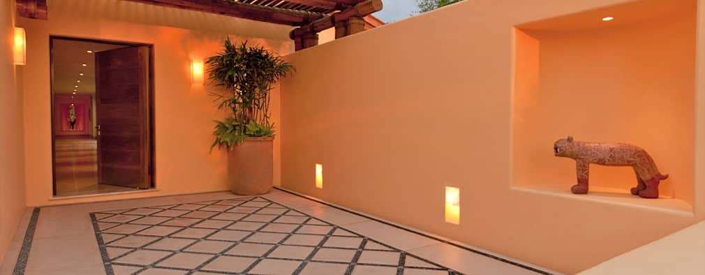 Kupuri: Paredes y pisos de estilo topical por BR  ARQUITECTOS
