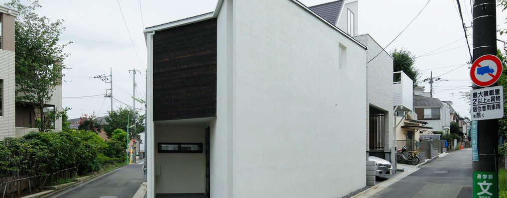 一級建築士事務所A-SA工房의  주택