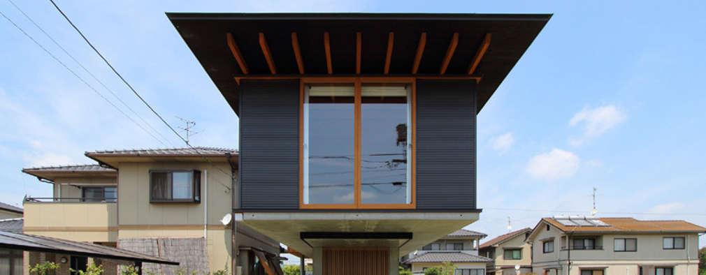Casas de estilo moderno por 株式会社濱田昌範建築設計事務所