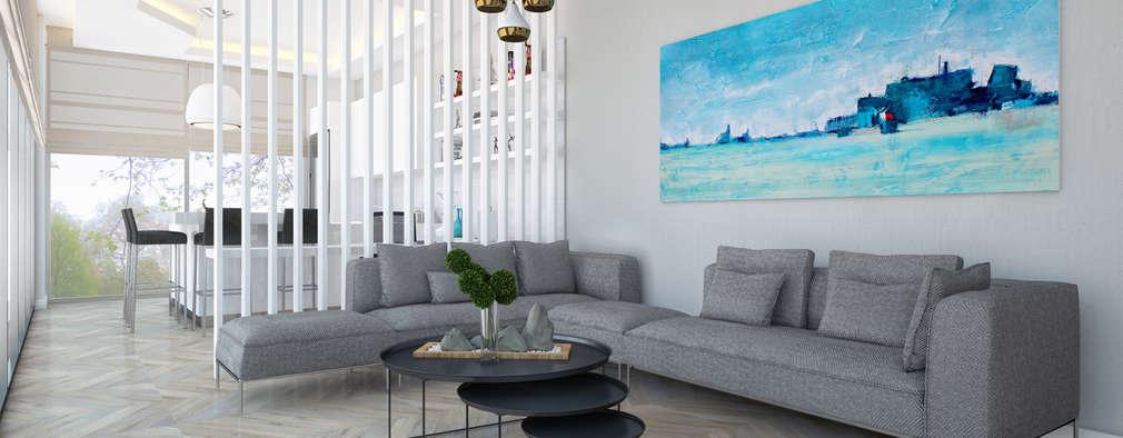 minimalistic Living room by Voltaj Tasarım
