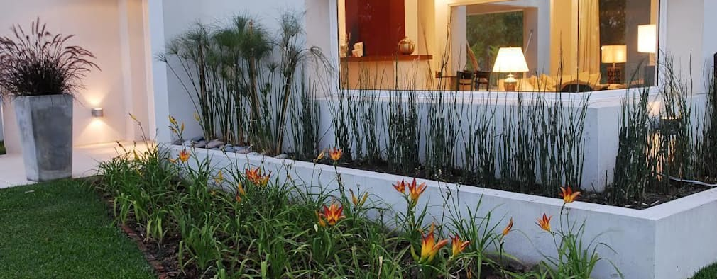15 dise os de jardineras que dar n un cambio radical a tu for Jardineras para patio casa