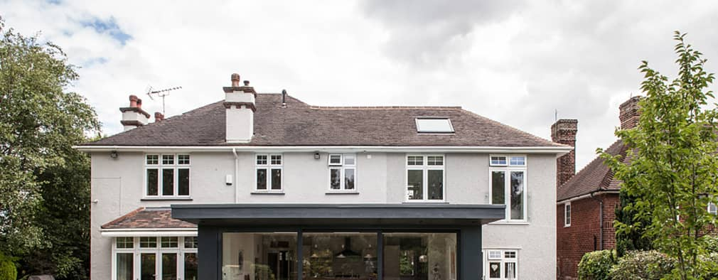 modern Houses by Nic  Antony Architects Ltd