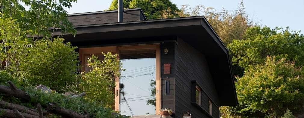 Projekty, klasyczne Domy zaprojektowane przez 宇佐美建築設計室