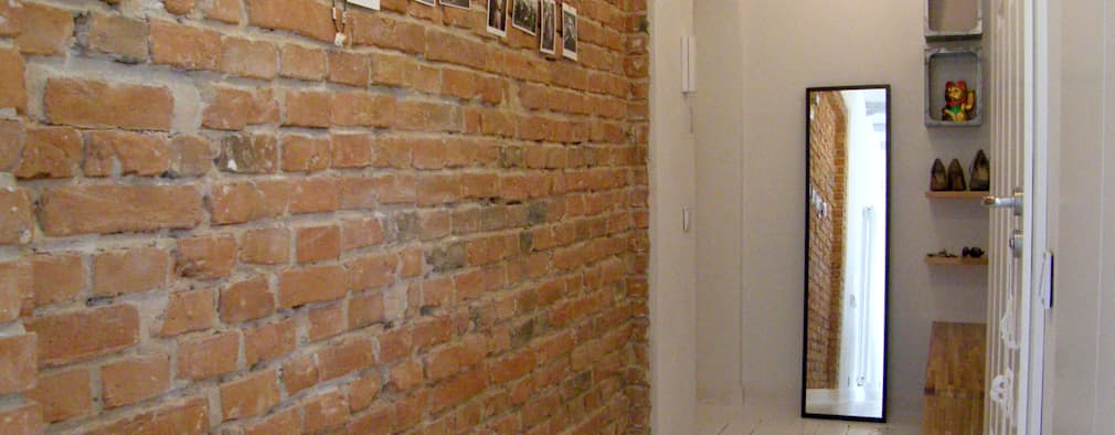 Couloir et hall d'entrée de style  par Mint&Brisk