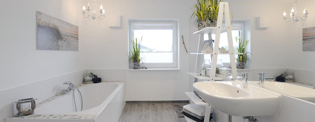 modern Bathroom by Danhaus GmbH